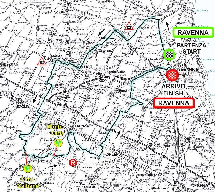 1ª Tappa Plan Gen 0103 RAVENNA - RAVENNA 2020